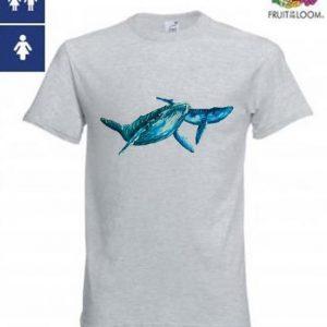 Whale Design Tee