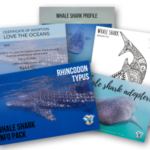 Whale Shark Adoption Pack